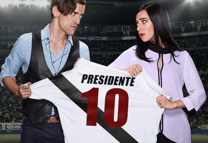 Isabel Iglesias será nombrada Presidenta en la segunda temporada de 'Club de Cuervos', la cual se estrenará el próximo 9 de diciembre.(Netflix)