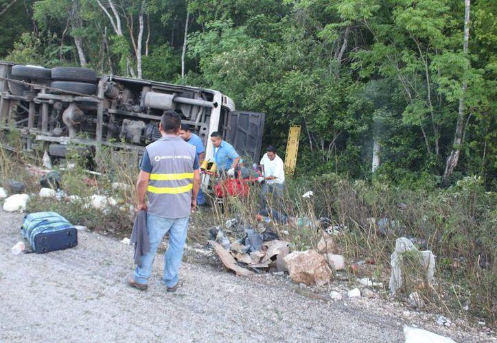 Doce personas fallecidas, entre ellas tres menores de edad (Benjamín Pat/ SIPSE)