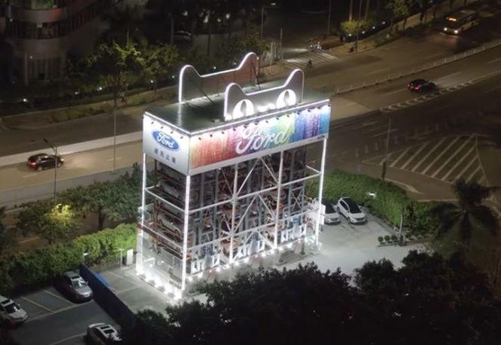 La máquina se encuentra ubicada en Guangzhou, una ciudad al sur de China. (excelsior.com)