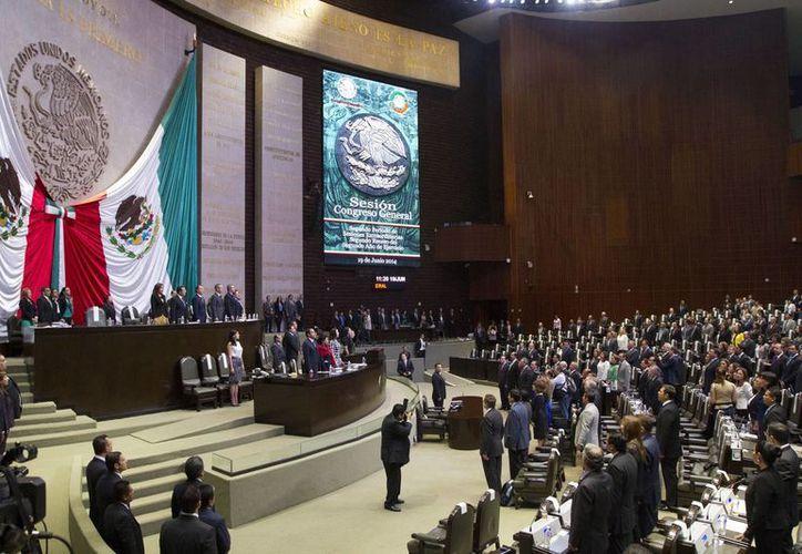 El PRD presentó en la Cámara de Diputados la iniciativa de Ley de Retiro para los Ex Presidentes de los Estados Unidos Mexicanos. (Archivo/Notimex)