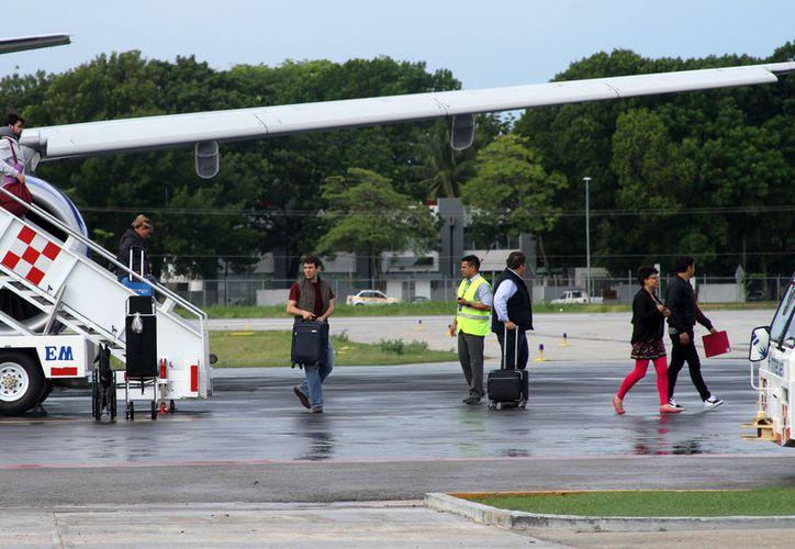 El primero de septiembre será el último vuelo de Tropic Air entre Chetumal y Belice. (Joel Zamora/SIPSE)