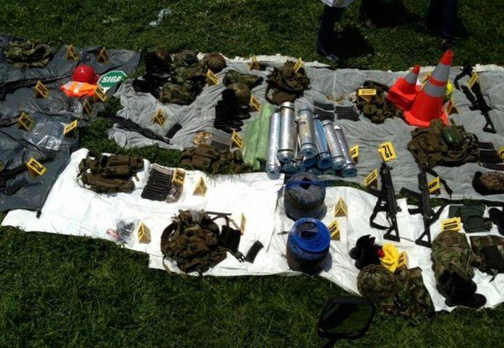 Los militares implicados en el tráfico de armas reportaban falsas pérdidas de materiales para beneficiar a las FARC. (Imagen de referencia/Archivo/Notimex)