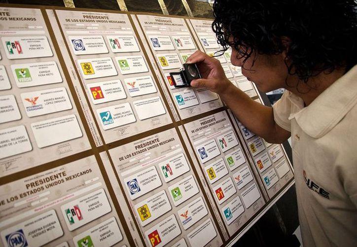 La cantidad de votos nulos igualó lo recibido por el partido del 'Sol Azteca'. (Internet)