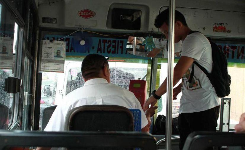 Empresarios del transporte urbano de Mérida insisten en un incremento al pasaje. (Foto: Milenio Novedades)