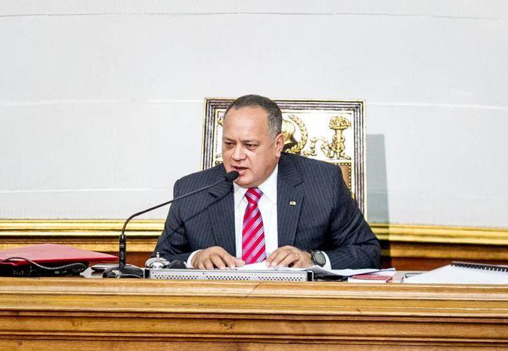 El presidente de la Asamblea Nacional de Venezuela (AN) Diosdado Cabello. (EFE/Archivo)