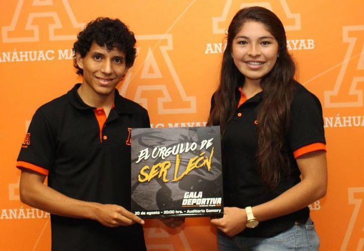 La Gala Deportiva se llevará a cabo este jueves 20 de agosto el Auditorio Gomory de la Universidad Anáhuac Mayab. (SIPSE)