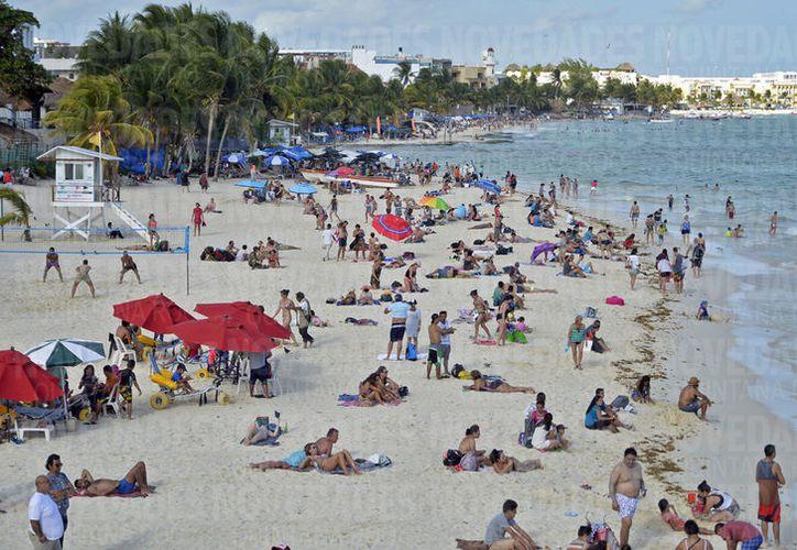 La Riviera Maya espera una ocupación promedio de 90%, en esta temporada decembrina. (Foto: Redacción/SIPSE)