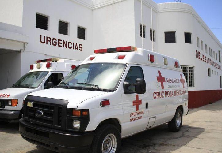 La Cruz Roja comenzará con el boteo en las calles a partir de hoy. (Harold Alcocer/SIPSE)