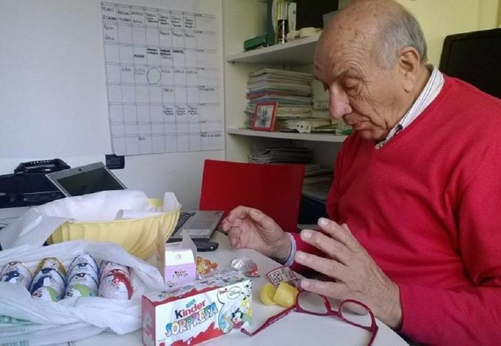 En los años 70, Salice patentó con Ferrero el popular huevo de chocolate que dentro lleva una cápsula de plástico con una sorpresa para niños. (huff.ro)