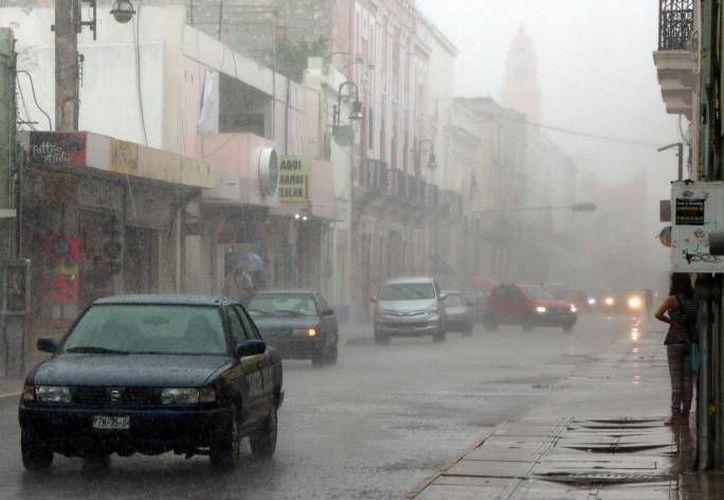 Este miércoles podría llover, pero  para los próximos días se espera un aumento gradual en las temperaturas máximas. (SIPSE)