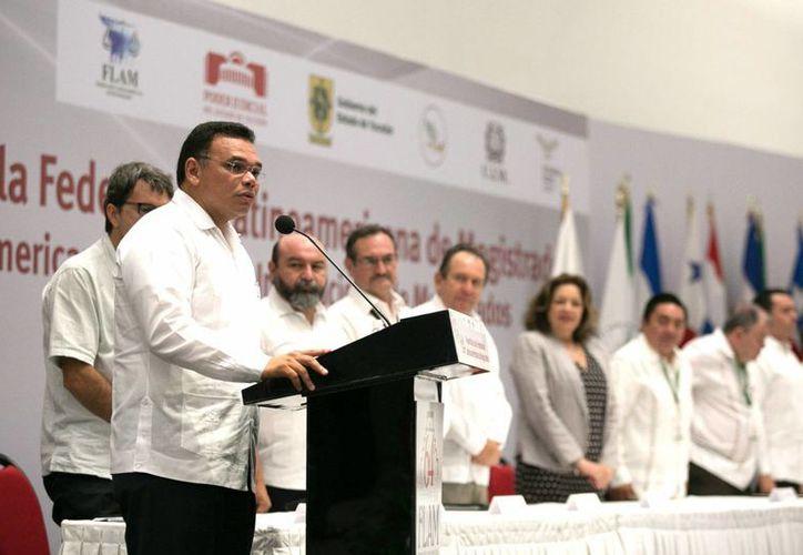 El gobernador Rolando Zapata estará este jueves en Dzilam González. (SIPSE)
