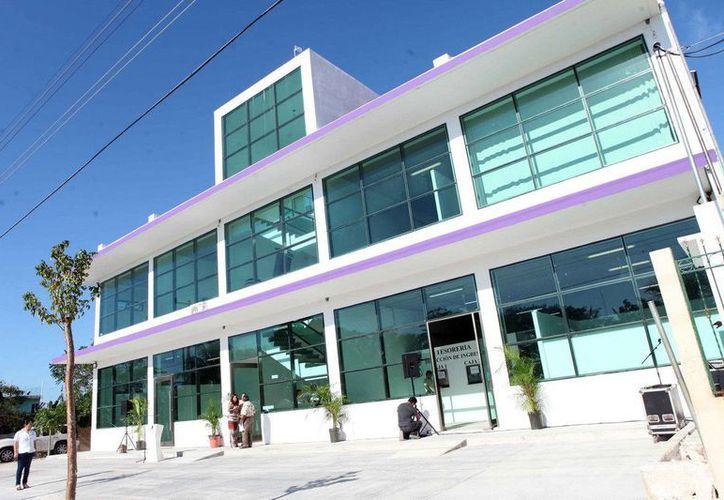 El nuevo municipio de Puerto Morelos, estrena Palacio Municipal. (Redacción/SIPSE)