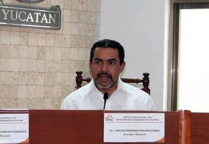 Carlos Pavón recordó que este año el INE organizará elecciones en Coahuila, Estado de México, Nayarit y Veracruz. (Archivo/ SIPSE)