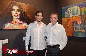 Exposición Dinamic Duos en la galería de Arte Sánchez