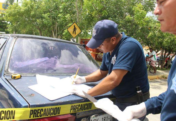 Elementos de Seguridad Pública y agentes Ministeriales estarán coordinados en los operativos en todo el municipio. (Jesús Caamal/SIPSE)