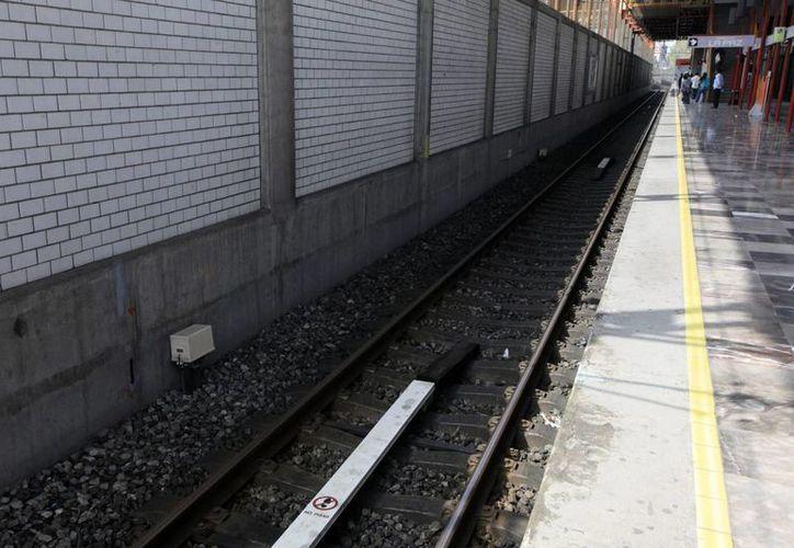 La identificación de las fallas en las vías del Metro y los convoyes de la Línea 12 ha costado 26.1 millones de pesos. (Notimex)