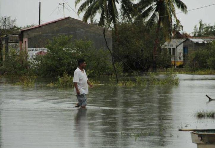 En varias zonas de Veracruz ha habido afectaciones durante semanas por las inundaciones y lluvias. (Notimex(Imagen de contexto)