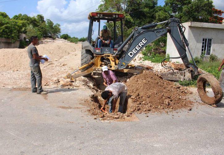 Este año, el municipio licitó 32 obras, todas con recursos federales. (Benjamin Pat/SIPSE)