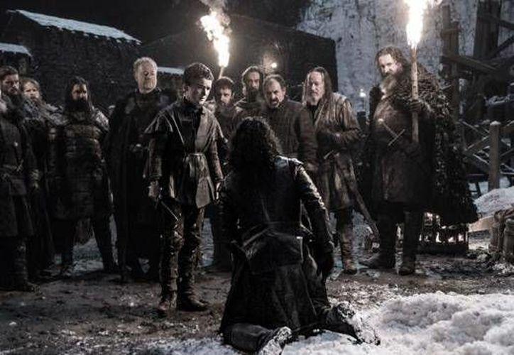 La sexta temporada de la serie Game of Thrones 6 llegará a las pantallas en abril, pero desde ahora hay un avance. (melty.com)