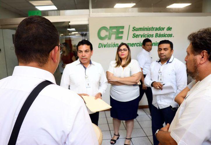 La CFE revisará la situación de cada municipio yucateco. (Foto: Milenio Novedades)