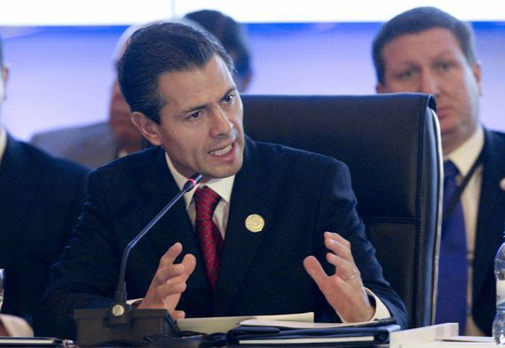 Por otra parte, Peña se dijo 'muy abierto' al debate sobre la legalización de las drogas. (Agencias)