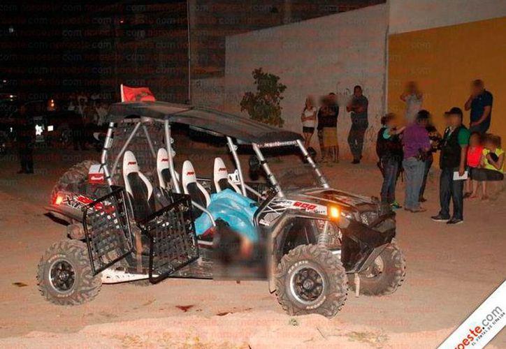 De acuerdo con el diario Noreste, en este vehículo fue emboscado el director de la Policía Municipal de Badiraguato. (noreste.com.mx)