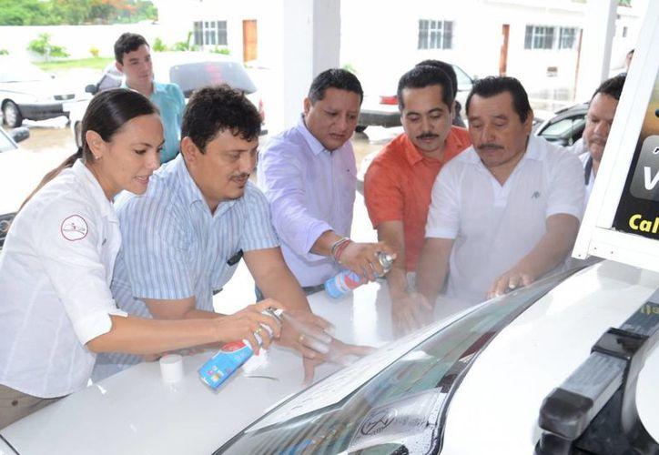 Cerca de 500 unidades fueron rotuladas por las autoridades. (Manuel Salazar/SIPSE)
