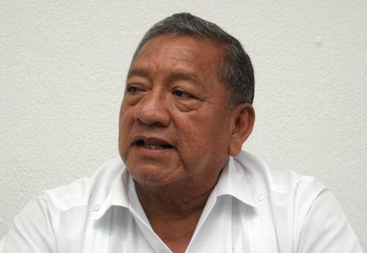 Daniel Quintal Ic, secretario de Obras Públicas, dijo que el rescate del Centro Histórico de Valladolid lleva un avance del 40%. (SIPSE)