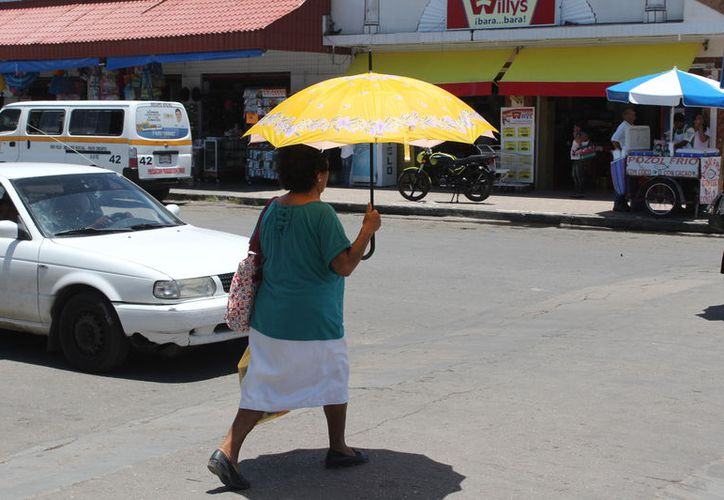 Las altas temperaturas continuarán en algunos municipios del estado. (Joel Zamora/SIPSE)