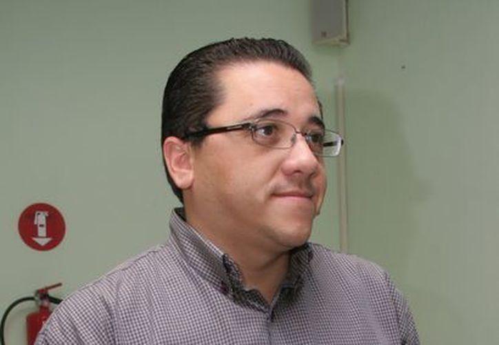 El diputado local y ex presidente interino del Comité Directivo Municipal del blanquiazul en Mérida, Víctor Hugo Lozano Poveda. (Milenio Novedades)