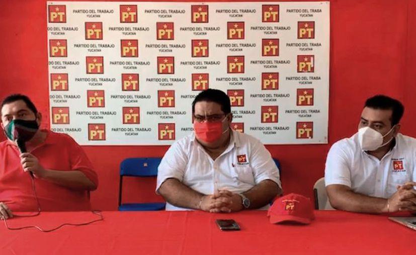 El presidente estatal del PT, Francisco Rosas Villavicencio, declaró que rumbo a las elecciones del 6 de junio de 2021 competirán en coalición con Unidos. (Foto: Captura de pantalla)