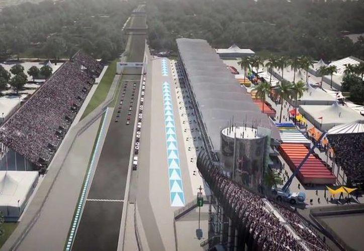 El Autódromo Hermanos Rodríguez se adaptará para albergar por tercera vez a la F1. (Foto: CIE)