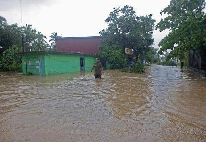 Son alrededor de 3 mil habitantes de 24 ejidos los que se han visto afectados por el desbordamiento del río Usumacinta. (Foto de archivo de SIPSE)