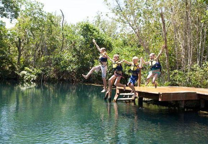 La Hacienda Tres Ríos será la sede de próximo triatlón que se llevará a cabo en Quintana  Roo. (Cortesía)