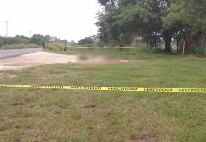 Los cuerpos de seis personas ejecutadas fueron localizados a un costado de la carretera federal 145 en Oaxaca. (Excélsior).