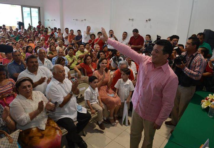 Fredy Efrén Marrufo Martín solicitó licencia a su cargo como diputado por Cozumel hace unas semanas. (Gustavo Villegas/SIPSE)