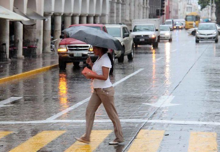 Prácticamente en todo el Estado se registraron lluvias a causa de la depresión tropical. (SIPSE)