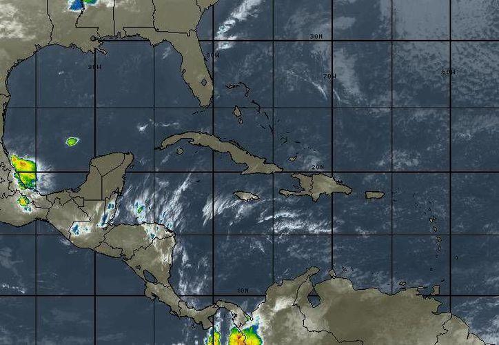 Se espera el 60% de probabilidad de lluvias fuertes en Quintana Roo. (Intellicast)