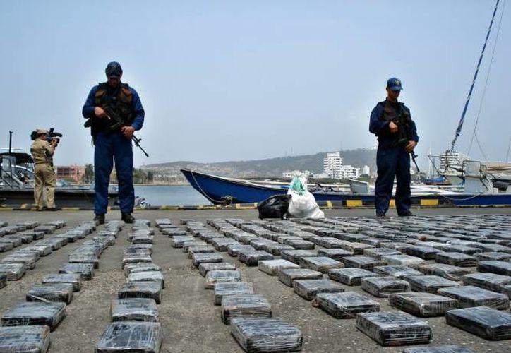 Colombia ha incautado mas de  19.5 toneladas de cocaína en lo que va del año.    (EFE- foto de contexto)