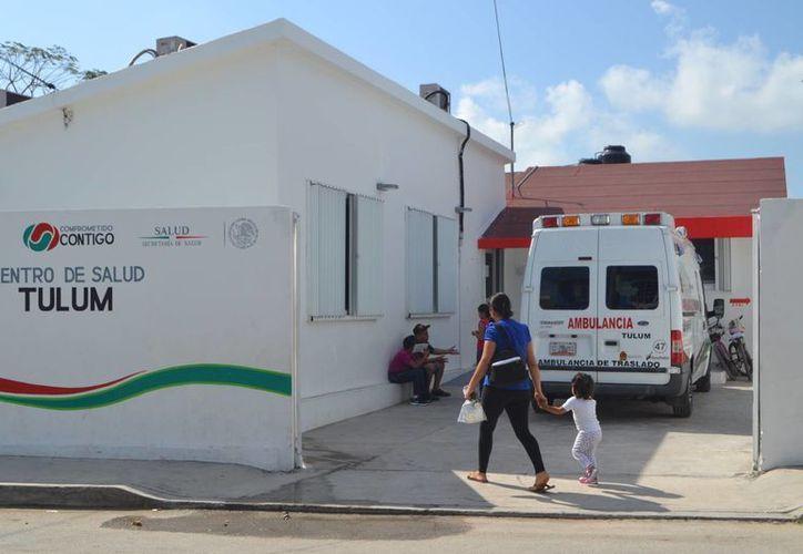 El Centro de Salud es insuficiente por el gran aumento demográfico que se registra, aceptó el titular de Salud, Juan Ortegón. (Rossy López/SIPSE)
