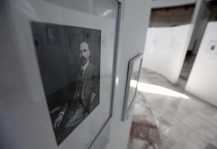 """La exposición refleja el lado """"humano"""" de Madero. (Notimex)"""