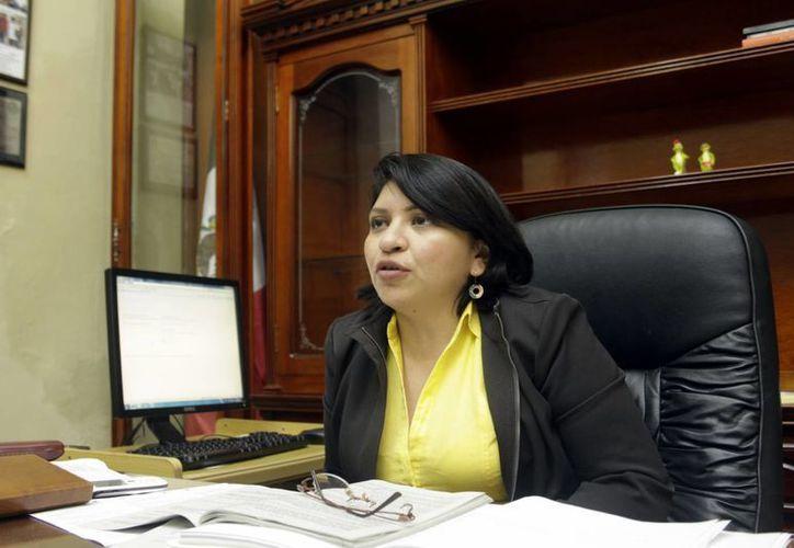 Martha Góngora Sánchez, directora del Registro Civil del Estado. (Juan Albornoz/SIPSE)