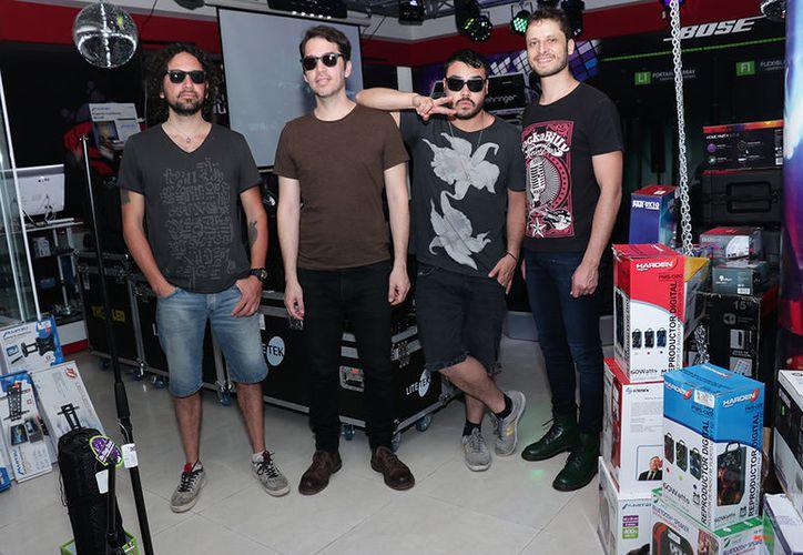 Los Daniels estuvieron en Mérida para presentar su reciente sencillo 'Uno para el otro'. (Jorge Acosta/Milenio Novedades)