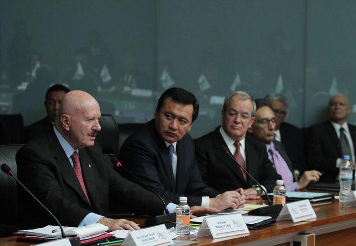 El Secretario de Gobernación reafirmó el trabajo conjunto federación-estados. (Notimex)
