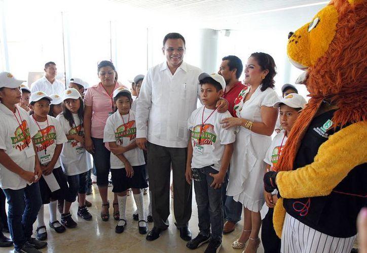 Maravíllate con Yucatán está dirigido a infantes que habitan en 10 comunides pobres de Yucatán. (Cortesía)