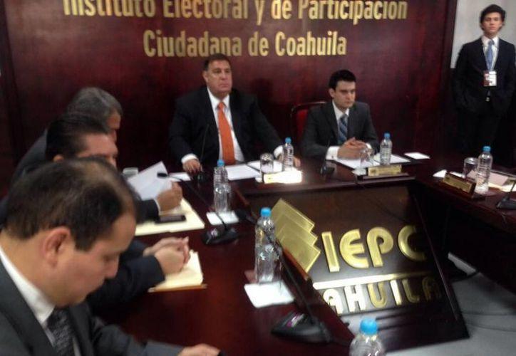 En las elecciones en Coahuila el PRI tiene ventaja en todos los distritos. (Notimex)