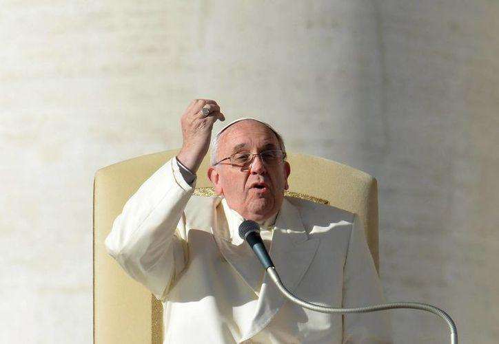 El tirón popular del que goza el Papa argentino puede servir como reclamo para aumentar las visitas al Museo de Cera de Roma. (EFE)