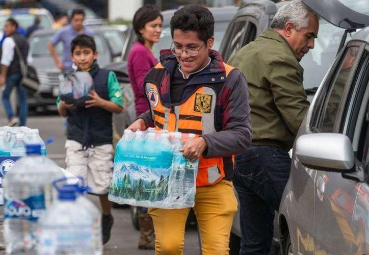 Con este centro de acopio, la UNAM se solidariza con las personas migrantes. (Excélsior)