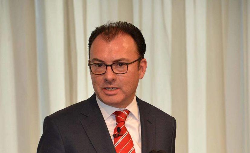 El secretario de Hacienda, Luis Videgaray, anunció en febrero pasado una reducción preventiva del gasto público. (Archivo/Notimex)