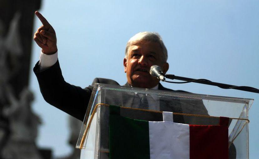 El excandidato presidencial, Andrés Manuel López Obrador (Archivo/Notimex)